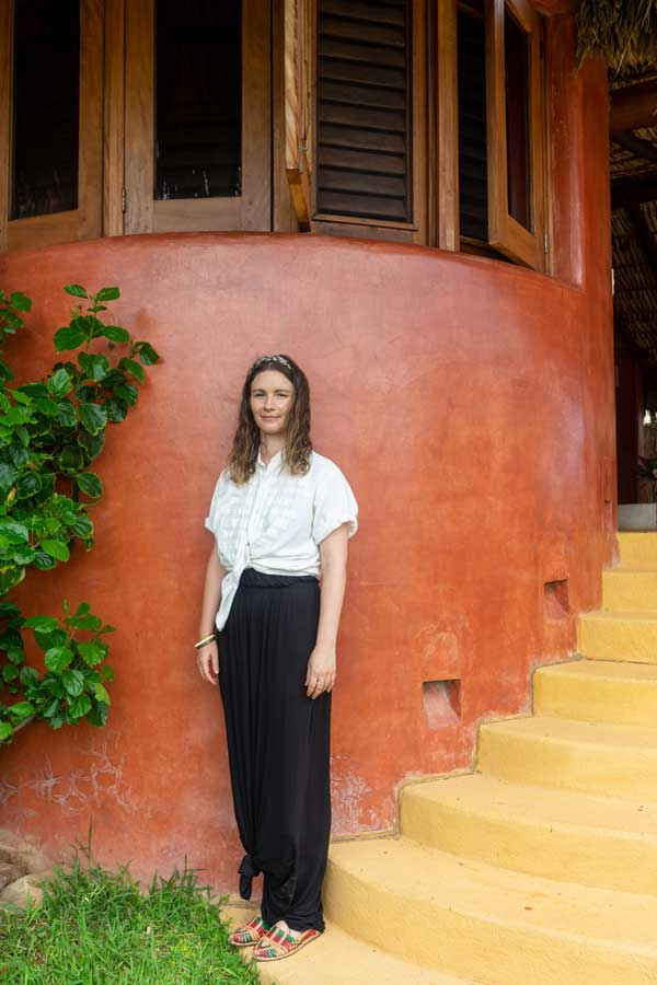 Alixandra Macmillan-Fiedel Booking Manager view and ocean La Chuparosa de Saladita Mexico surf vacations