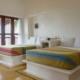 bedroom Eco-Friendly Beachfront Property La Chuparosa de Saladita