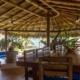 outdoor dining and lounge area Beachfront Property La Chuparosa de Saladita