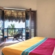 bedroom Beachfront Property Honors Local Mexican Setting and Materials